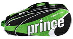Prince Tour Team 12 Bag - Tennistasche  Black-White-Green