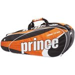 Prince Tour Team 12 Bag - Tennistasche  Black-White-Orange