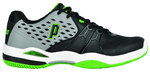 Prince Warrior CC grey-black-green Tennisschuhe Clay Court
